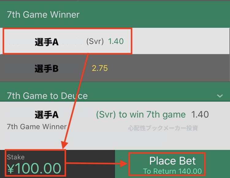 bet365のgamewinner