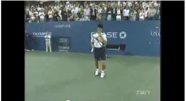 Novak Jovovich_Rafael Nadal_imitates