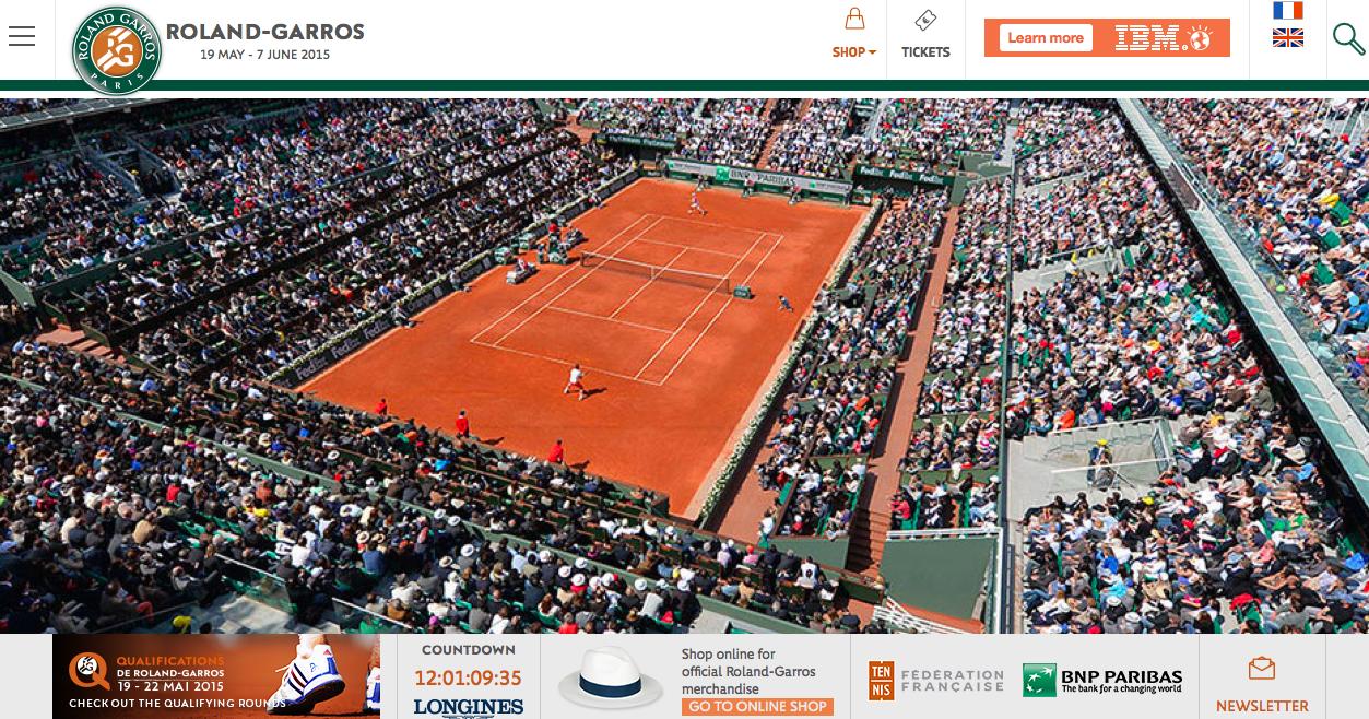 全仏オープンテニス2015_日程_wowow