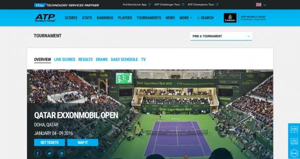 ATP ドーハ 2016 テニス