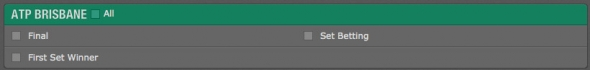bet365 テニス