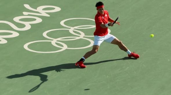 錦織,リオオリンピック