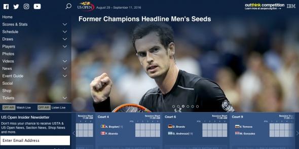 錦織,全米オープンテニス,2016