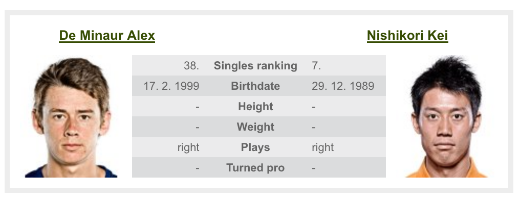 錦織,全米オープンテニス