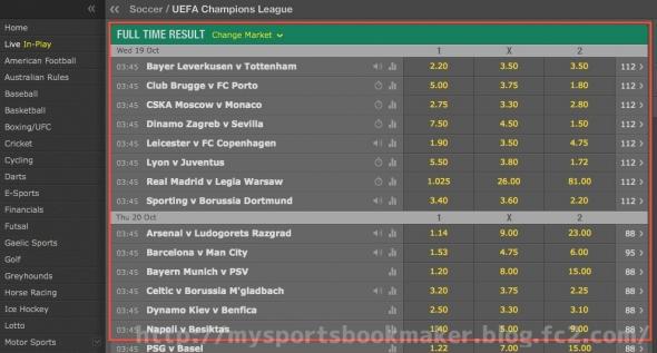 bet365,UEFA