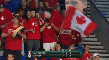 カナダ デビスカップ2015
