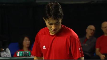 デビスカップ2015 日本1