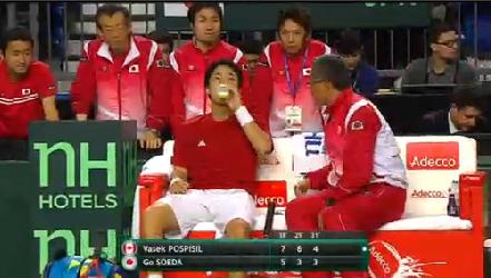 デビスカップ2015 日本2