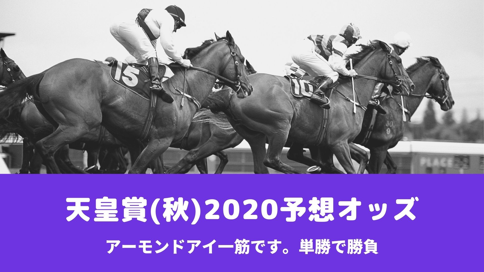 天皇賞秋2020ブックメーカーの予想オッズ比較