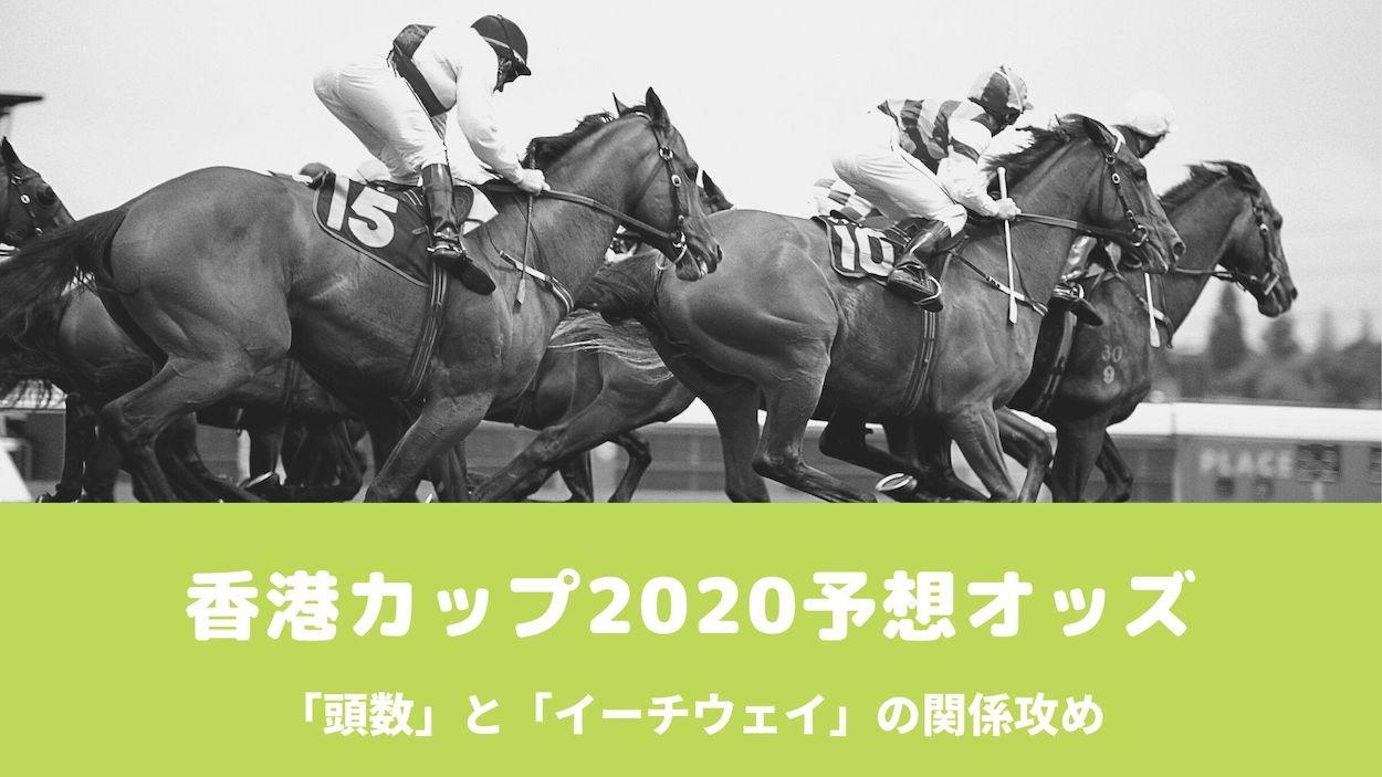 ブックメーカーで香港カップ2020へ賭ける